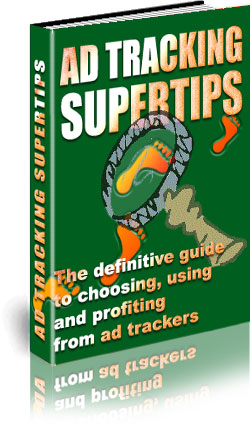Ad Tracking SuperTips ebook cover